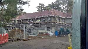 Gorse Hill Hotel new confence centre nears completion