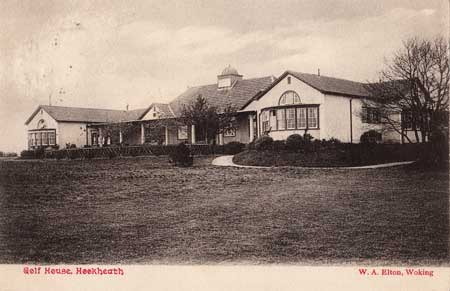 Historic view of unknown housse in Hook Heath