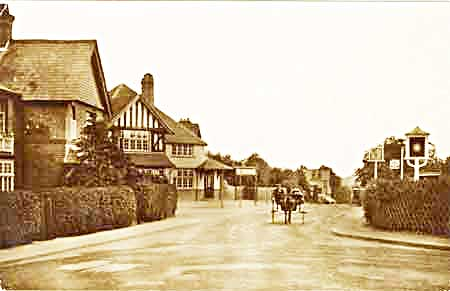Historic view of Star Hill in Hook Heath